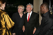 NICK RHODES AND MICHAEL WHITE, Tatler Summer party. Home House. Portman Sq. London. 27 June 2007.  -DO NOT ARCHIVE-© Copyright Photograph by Dafydd Jones. 248 Clapham Rd. London SW9 0PZ. Tel 0207 820 0771. www.dafjones.com.