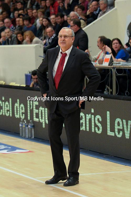 Alain Weisz - 27.12.2014 - Paris Levallois / Nancy - 15eme journee de Pro A<br />Photo : Andre Ferreira / Icon Sport