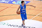 DESCRIZIONE : Trento Nazionale Italia Uomini Trentino Basket Cup Italia Olanda Italy Holland<br /> GIOCATORE : Andrea De Nicolao<br /> CATEGORIA : Palleggio Schema<br /> SQUADRA : Italia Italy<br /> EVENTO : Trentino Basket Cup<br /> GARA : Italia Olanda Italy Holland<br /> DATA : 11/07/2014<br /> SPORT : Pallacanestro<br /> AUTORE : Agenzia Ciamillo-Castoria/GiulioCiamillo<br /> Galleria : FIP Nazionali 2014<br /> Fotonotizia : Trento Nazionale Italia Uomini Trentino Basket Cup Italia Olanda Italy Holland
