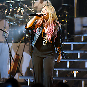VIENNA, VA - June 25th, 2012 - Demi Lovato performs at  The Filene Center at Wolf Trap National Park for the Performing Arts as part of her 2012 Summer Tour. Lovato announced on Twitter on April 4th 2012 that she had begun writing for her forthcoming album. (Photo by Kyle Gustafson/For The Washington Post)