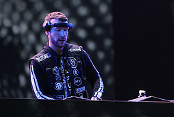 July 4, 2018 - Kyiv, Ukraine - DJ Don Diablo of the Netherlands gives a concert on the Main Stage at the Expocenter of Ukraine National Complex on Day 2 of the Atlas Weekend 2018, one of the biggest music festivals in Eastern Europe, Kyiv, capital of Ukraine, July 4, 2018. Ukrinform. (Credit Image: © Ovsyannikova Yulia/Ukrinform via ZUMA Wire)