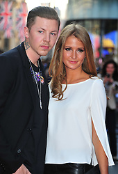 "© Licensed to London News Pictures. 30/05/2012. Watford, England. Professor Green and Millie Mackintosh attends the world premiere of ""ILL MANNERS"" featuring Plan B at The Empire Liecester Square London   Photo credit : ALAN ROXBOROUGH/LNP"