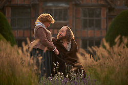 Judi Dench as Anne Hathaway, Kenneth Branagh as William Shakespeare