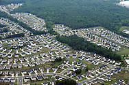 Housing development in northern Mecklenburg County, one of the fastest growing  counties in the US in terms of populations and development. Lat 35,19.6817N  Long 80,52,8836W
