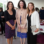 13.05.2016.           <br /> Delores Condon, Jennifer Buckley and Lorainne Barry all of AIB pictured at the much anticipated Limerick School of Art & Design, LIT, (LSAD) Graduate Fashion Show on Thursday 12th May 2016. The show took place at the LSAD Gallery where 27 graduates from the largest fashion degree programme in Ireland showcased their creations. Ranked among the world's top 50 fashion colleges, Limerick School of Art and Design is continuing to mold future Irish designers.. Picture: Alan Place/Fusionshooters