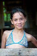 Young girl in Bariay, Holguin, Cuba.