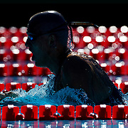 Laszio Cseh, Hungary, in action during the Men's 400m IM heats at the World Swimming Championships in Rome on Sunday, August 02, 2009. Photo Tim Clayton
