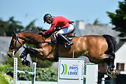Peder FREDRICSON (SWE) riding HM CARAT DESIRE during the Derby Region Pays de la Loire Competition of the International Show Jumping of La Baule 2018 (Jumping International de la Baule), on May 19, 2018 in La Baule, France - Photo Christophe Bricot / ProSportsImages / DPPI