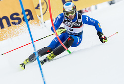 "Manfred Moelgg (ITA) competes during 1st Run of FIS Alpine Ski World Cup 2017/18 Men's Slalom race named ""Snow Queen Trophy 2018"", on January 4, 2018 in Course Crveni Spust at Sljeme hill, Zagreb, Croatia. Photo by Vid Ponikvar / Sportida"