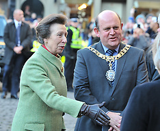 Princess Royal attends memorial service for Elsie Inglis | Edinburgh | 29 November 2017.