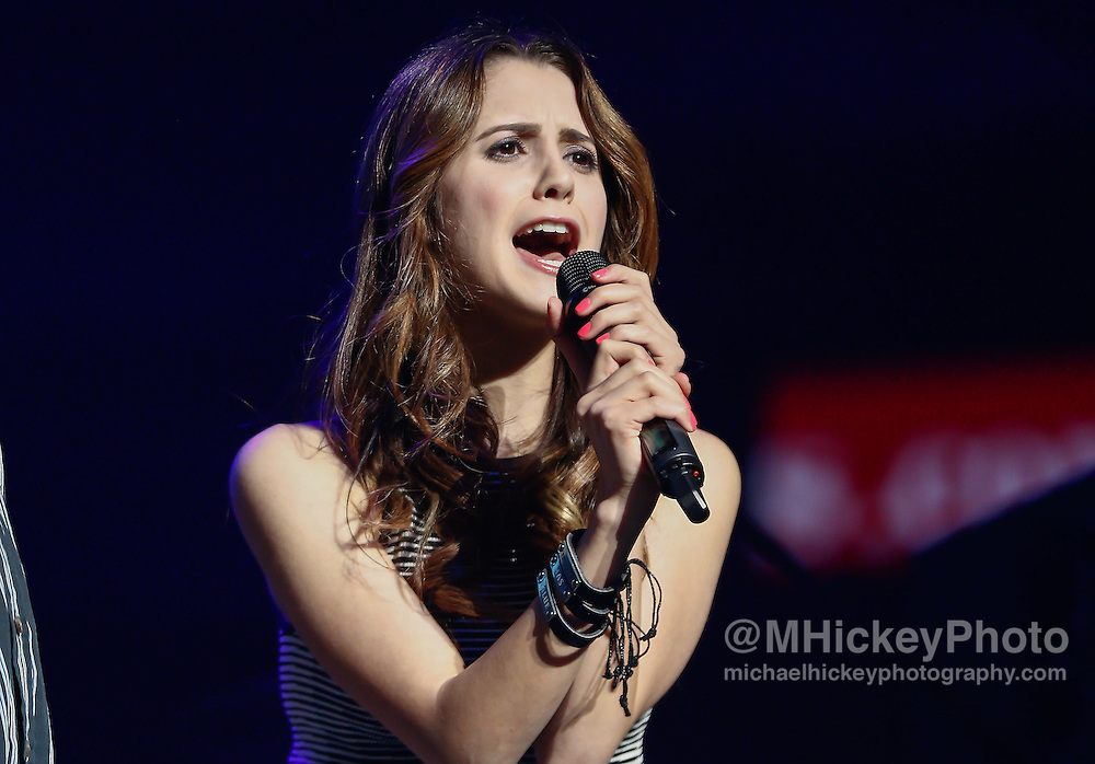 INDIANAPOLIS, IN - JUN 19: Laura Marano appears at the WZPL Birthday Bash on June 19, 2015 in Indianapolis, Indiana. (Photo by Michael Hickey/Getty Images) *** Local Caption *** Laura Marano