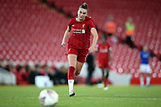 Liverpool women midfielder Melissa Lawley (11) during the FA Women's Super League match between Liverpool Women and Everton Women at Anfield, Liverpool, England on 17 November 2019.