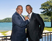 Tim Raines and Rickey Henderson photograph, 2017 July 29