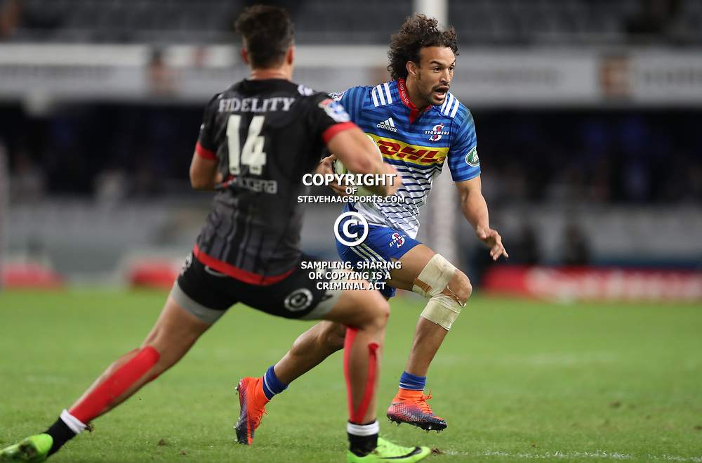 DURBAN, SOUTH AFRICA - MAY 27: Dillyn Leyds of the DHL Stormers during the Super Rugby match between Cell C Sharks and DHL Stormers at Growthpoint Kings Park on May 27, 2017 in Durban, South Africa. (Photo by Steve Haag/Gallo Images)