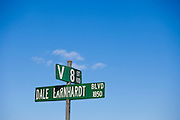 Dale Earnhardt Blvd. runs past a section of Kannapolis known as Car Town, where Dale Earnhardt was raised among streets named Chevrolet, Cadillac, Chrysler and V8.