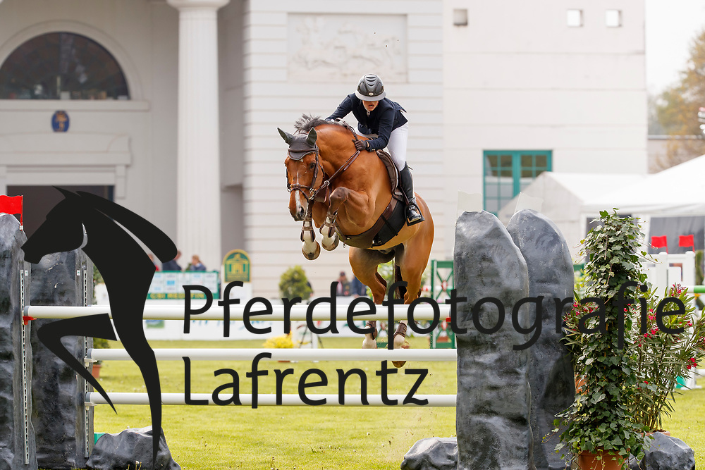 Dassio, Morgane (SUI), Newton du Haut Bois<br /> Redefin - Pferdefestival 2017<br /> © Stefan Lafrentz