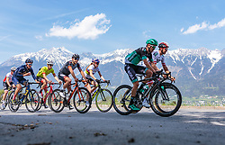 25.04.2018, Innsbruck, AUT, ÖRV Trainingslager, UCI Straßenrad WM 2018, im Bild Mitglieder der Österreichischen Nationalmannschaft vor der Nordkette // during a Testdrive for the UCI Road World Championships in INNSBRUCK, Austria on 2018/04/25. EXPA Pictures © 2018, PhotoCredit: EXPA/ JFK