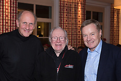 06.01.2016, Gröbming, AUT, Planai-Classic 2016, Eröffnungsabend im Hotel Restaurant Loy, im Bild von links Hans-Joachim Stuck, Rauno Aaltonen, Alois Guggi, Bürgermeister von Gröbming // during the opening night of the Planai-Classic 2016 in the Hotel Restaurant Loy in Gröbming, Austria on 2016/01/06. EXPA Pictures © 2016, PhotoCredit: EXPA / Martin Huber