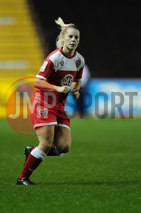 Bristol Academy Womens' Nikki Watts   - Photo mandatory by-line: Joe Meredith/JMP - Mobile: 07966 386802 - 13/11/2014 - SPORT - Football - Bristol - Ashton Gate - Bristol Academy Womens FC v FC Barcelona - Women's Champions League