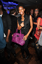 Tolula Adeyemi at a party following the premier of Boogie Woogie held at The Westbury Hotel, Conduit Street, London on 13th April 2010.
