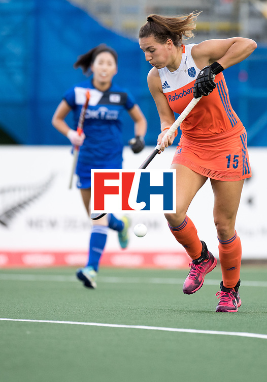 AUCKLAND - Sentinel Hockey World League final women<br /> Match id: 10299<br /> 09 NED v KOR (Pool A)<br /> Foto: Frederique Matla.<br /> WORLDSPORTPICS COPYRIGHT FRANK UIJLENBROEK