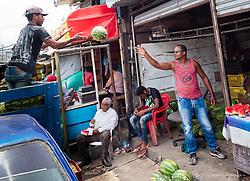 South America, Colombia, Bazurto Market