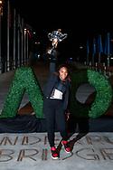 SERENA WILLIAMS (USA) mit Pokal, <br /> <br /> Australian Open 2017 -  Melbourne  Park - Melbourne - Victoria - Australia  - 30/01/2017.