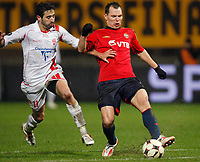 Fotball<br /> Frankrike<br /> Foto: DPPI/Digitalsport<br /> NORWAY ONLY<br /> <br /> FOOTBALL - UEFA CUP 2008/2009 - GROUP STAGE - GROUP H - 04/12/2008 - AS NANCY LORRAINE v CSKA MOSKVA - SERGEY IGNASHEVICH (CSKA) / MONSEF ZERKA (NAN)