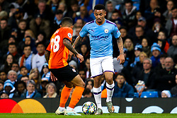 Gabriel Jesus of Manchester City takes on Dodo of Shakhtar Donetsk - Mandatory by-line: Robbie Stephenson/JMP - 26/11/2019 - FOOTBALL - Etihad Stadium - Manchester, England - Manchester City v Shakhtar Donetsk - UEFA Champions League Group Stage