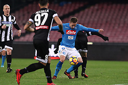 December 19, 2017 - Naples, Italy - MARKO ROG (SSC Napoli)..during the TIM Cup match between SSC Napoli and Udinese Calcio at Stadio San Paolo on December 19, 2017 in Naples, Italy. (Credit Image: © Paolo Manzo/NurPhoto via ZUMA Press)