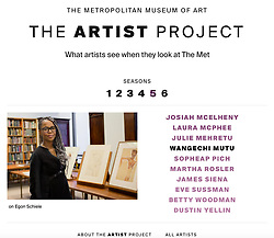 The Artist Project Met Online Feature<br /> Portrait Photography, Image Direction, and Retouching by Jackie Neale