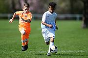 01.04.2017; Zuerich; Fussball Junioren - FCZ Uetliberg FE-13 - GC Limmattal - Josuah Gerber (Zuerich)<br /> (Steffen Schmidt/freshfocus)