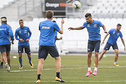 July 26, 2017 - Marseille, FRANCE - Oostende's Ramin Rezaeian pictured in action during a training session of Belgian first division soccer team KV Oostende ahead of the first leg of the third qualifying round for the UEFA Europa League competition, Wednesday 26 July 2017 in Marseille. KV Oostende plays against Olympic Marseille on Thursday...BELGA PHOTO LAURIE DIEFFEMBACQ (Credit Image: © Laurie Dieffembacq/Belga via ZUMA Press)