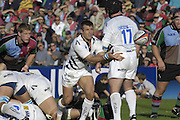 EDF Energy Cup, Sharks, Oriel RIPOL, during the  NEC Harlequins vs Sale Sharks at the Stoop Stadium, Twickenham. 07/10/2006 . [Photo, Peter Spurrier/Intersport-images]..