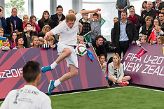 Auckland - Prince Harry visits FIFA U20 Event at The Cloud