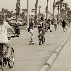Streetshots of Venice Beach, California, USA