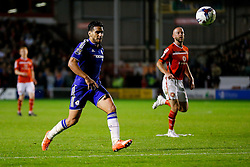 Radamel Falcao Garcia of Chelsea in action - Mandatory byline: Rogan Thomson/JMP - 07966 386802 - 23/09/2015 - FOOTBALL - Bescot Stadium - Walsall, England - Walsall v Chelsea - Capital One Cup.