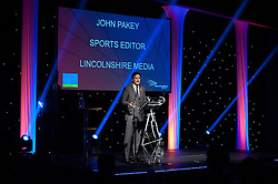 Lincolnshire Echo/Lincolnshire Media sports editor John Pakey<br /> <br /> Lincolnshire Sports Awards 2015.<br /> <br /> Picture: Chris Vaughan/Chris Vaughan Photography for Lincolnshire Sport.<br /> Date: November 5, 2015