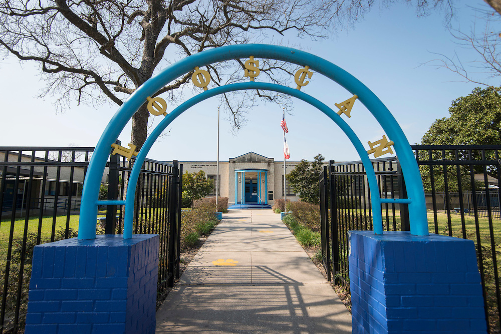 Looscan Elementary School, February 2, 2017.