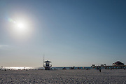 Clearwater, Florida, USA., Wednesday, 25.09.19 , Beach, Pier 60   <br /> <br /> [Mandatory Credit; Pete SPURRIER]