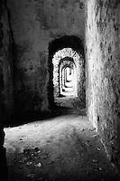 Doorways in Burg Rheinfels Castle, St. Goar, Germany