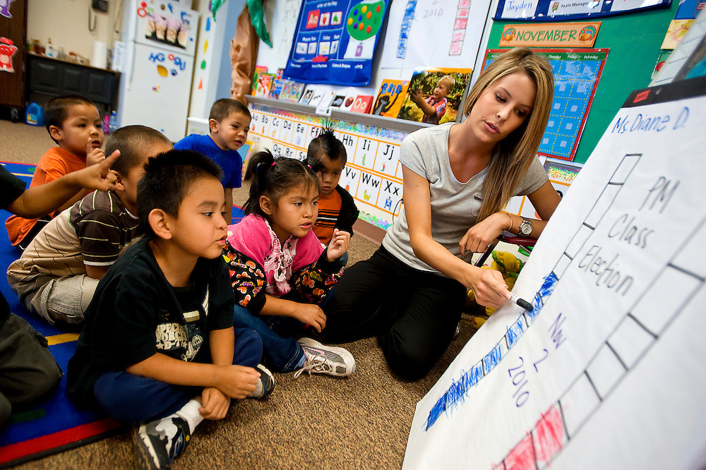 110210       Brian Leddy.Rocky View Elementary pre-kindergarten teacher Brittany Toll will represent New Mexico in the upcoming Miss USA Pageant.