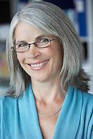 Business woman in office portrait