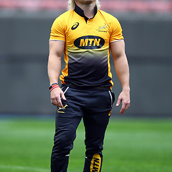Faf de Klerk of South Africa during the South African - Springbok Captain's Run at DHL Newlands Stadium. Cape Town.South Africa. 22,06,2018 23,06,2018 Photo by (Steve Haag JMP)