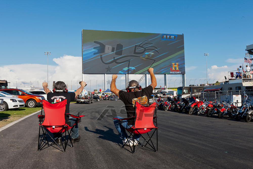 CONCORD, NC - MAY 27, 2012:  Charlotte Motor Speedway plays host to the longest race of the year, the Coca-Cola 600 in Concord, NC.