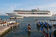 Venice, Italy, sept. 2009. Cruise in bacino San Marco.