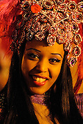 carnival, night parade, Brazilian dancer, disguise, venice mask, Guadarrama, Sapin
