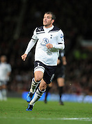 Rafael Van Der Vaart during the Barclays Premier League match between Manchester United and Tottenham Hotspur at Old Trafford on October 30, 2010 in Manchester, England.