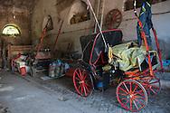 Roma, 06/07/2011: le stalle del Campo Boario - horses stables