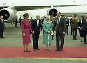State Visit of King Juan Carlos and Queen Sophia of Spain to Ireland.<br />